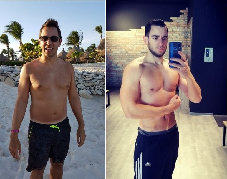 Alexander Reich Transformation healthy eating