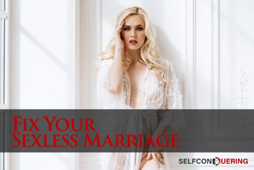 how to fix your sexless marriage beautiful blonde woman