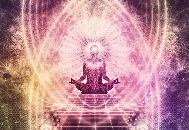 Meditation with transcendent experience
