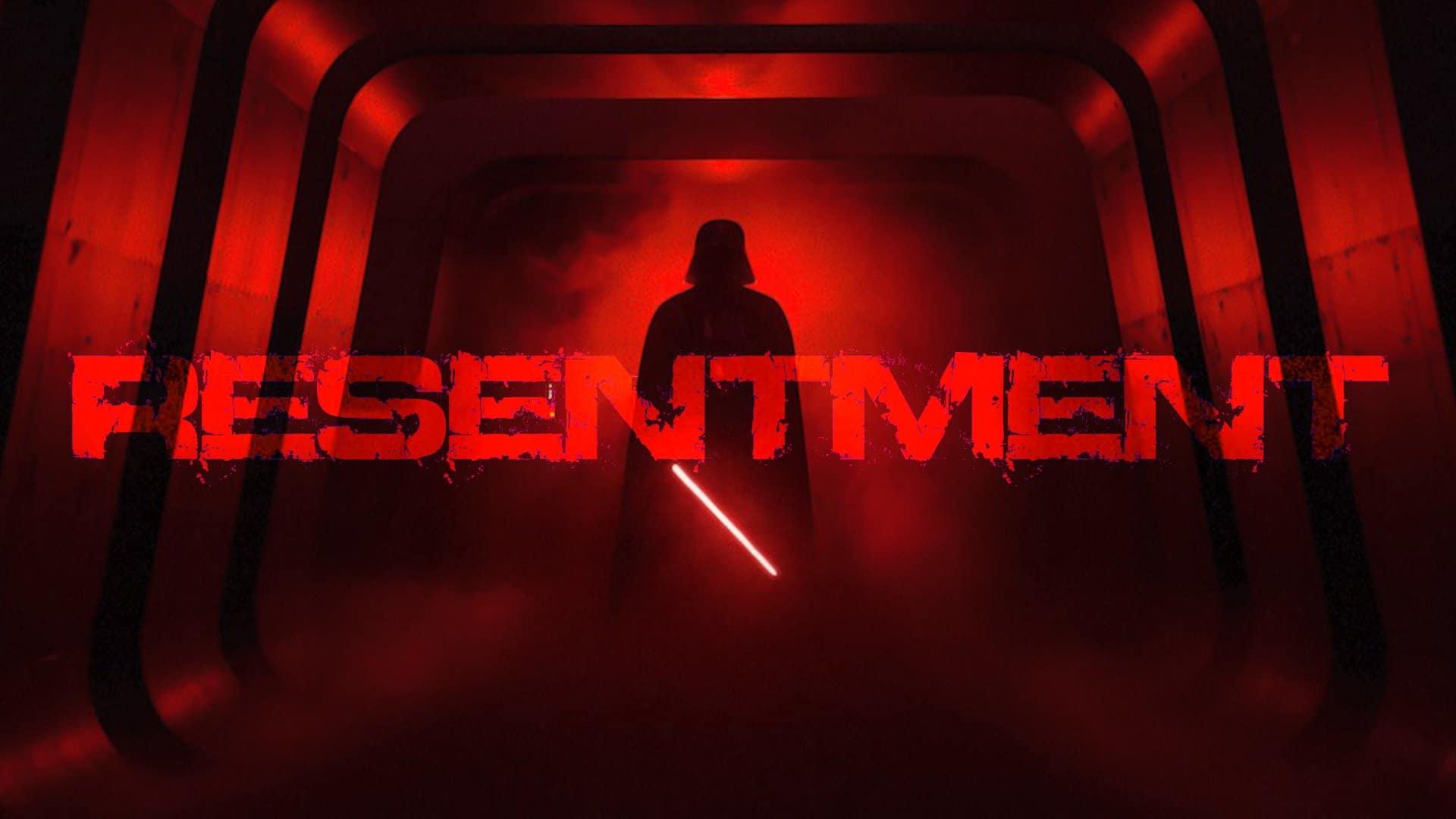 Star Wars resentment youtube thumbnail darth vader