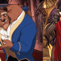 Comparison beauty and the beast feminine and slutty