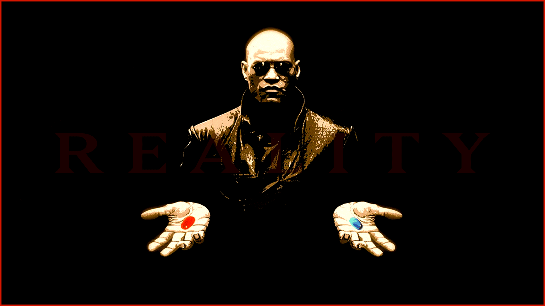 the matrix red pill blue pill morpheus