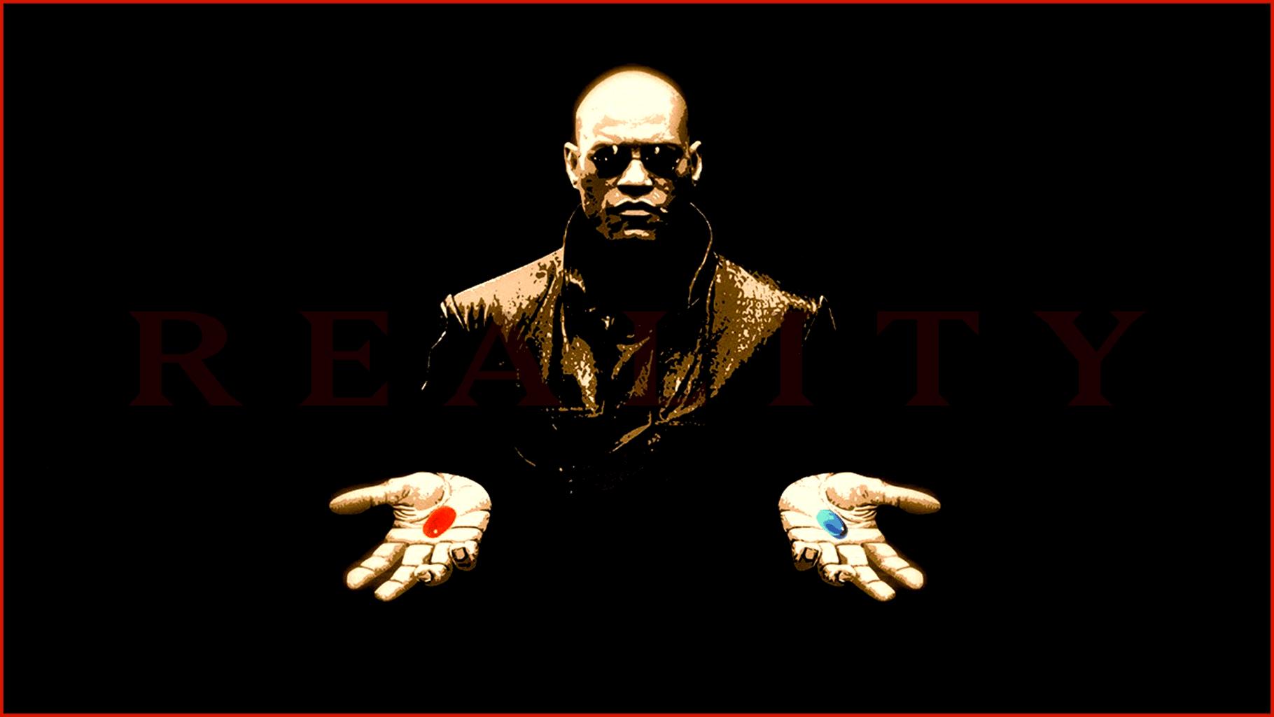 the matrix red pill blue pill morpheus