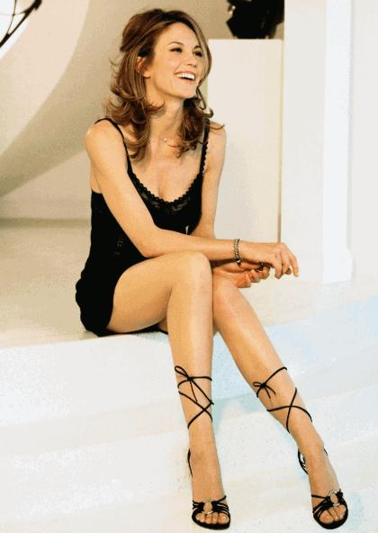 Diane Lane in a negligee true femininity