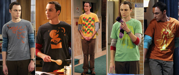 Sheldon cooper clothing