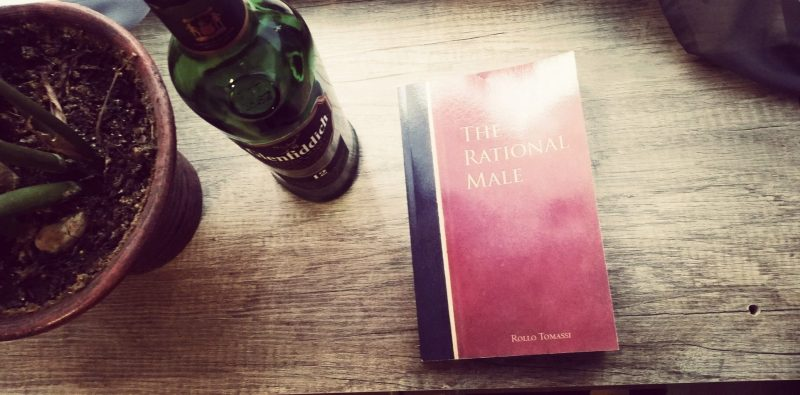 The Rational male book summarized with a good whiskey