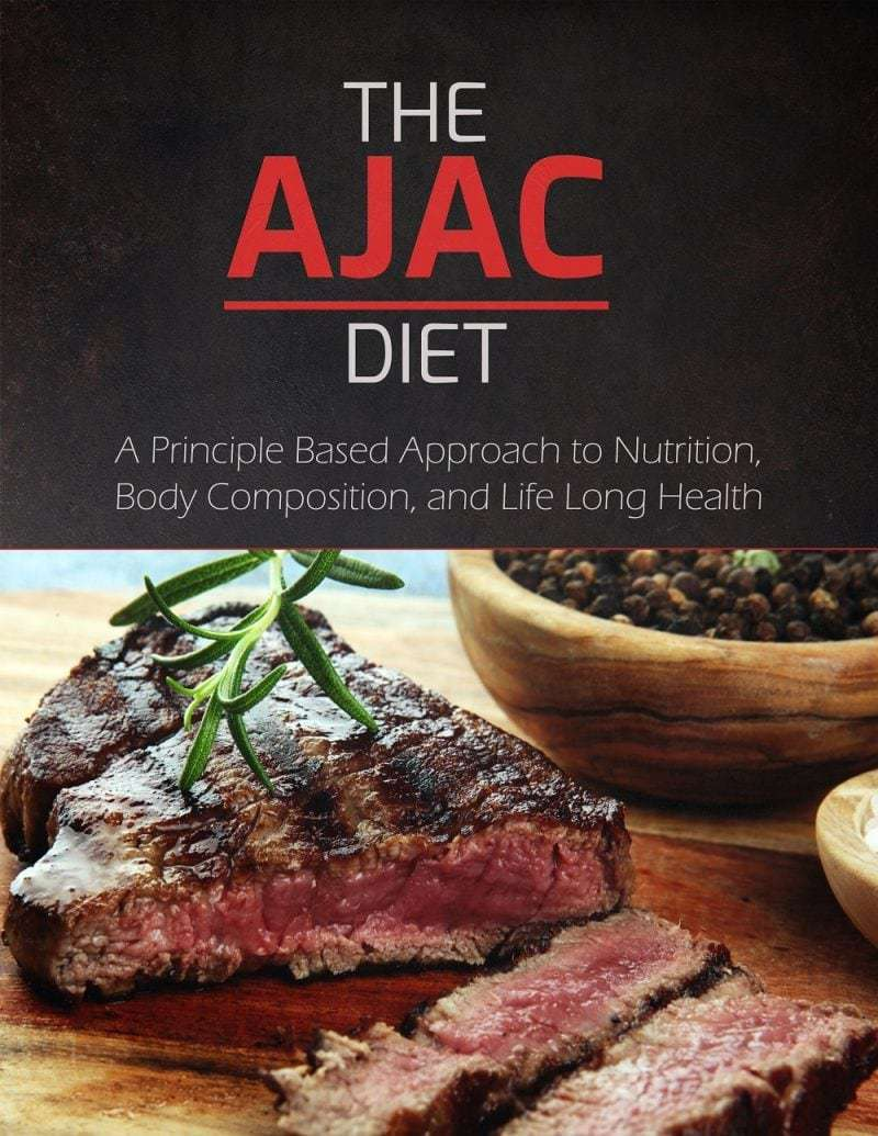 The AJAC Diet book cover