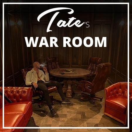 Tates war room