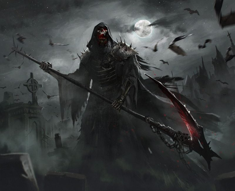 The Grim Reaper Artwork