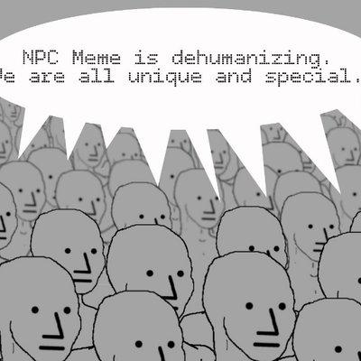 The npc meme