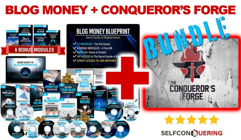 blog money success bundle with the forge