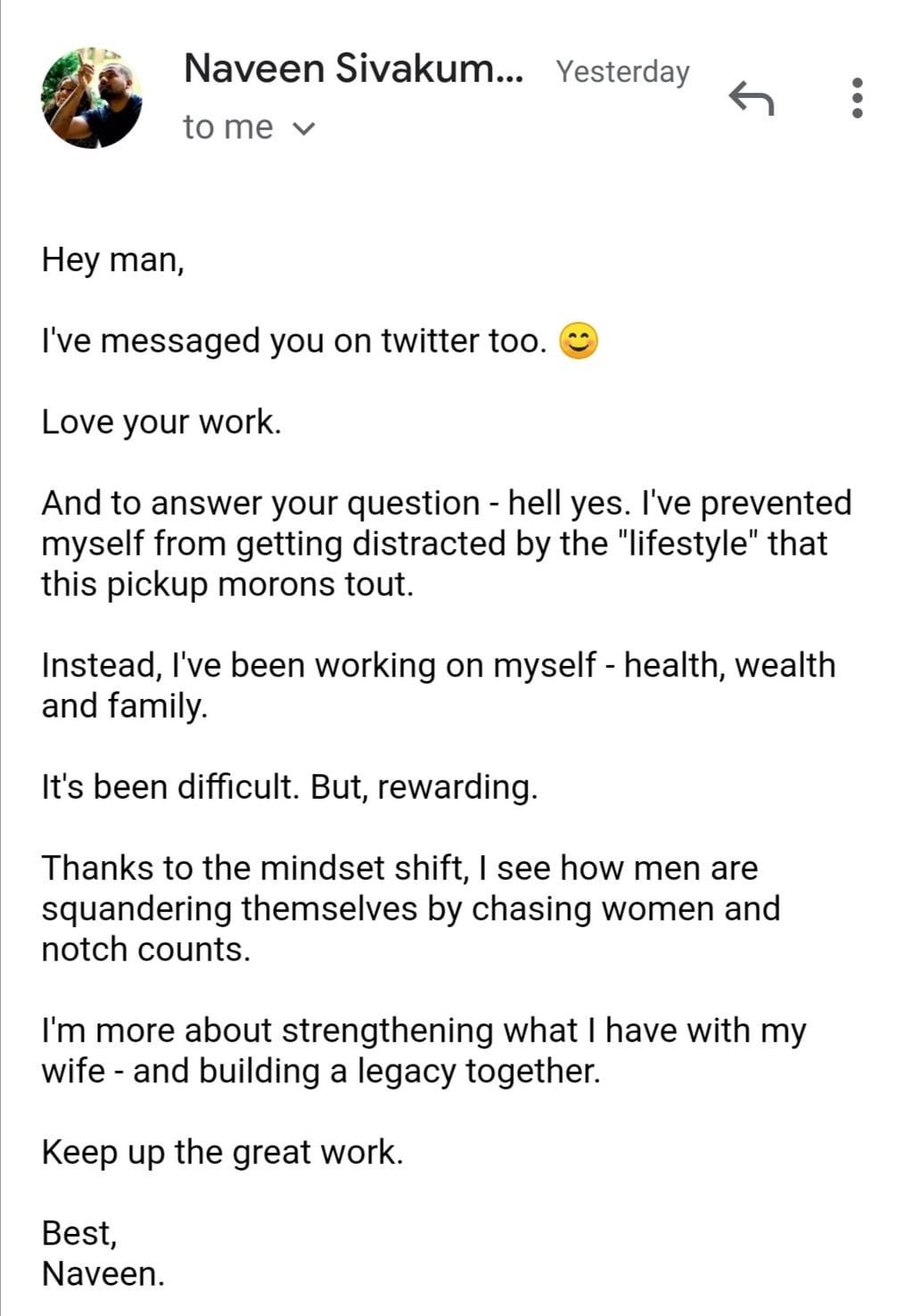 own your shit testimonial