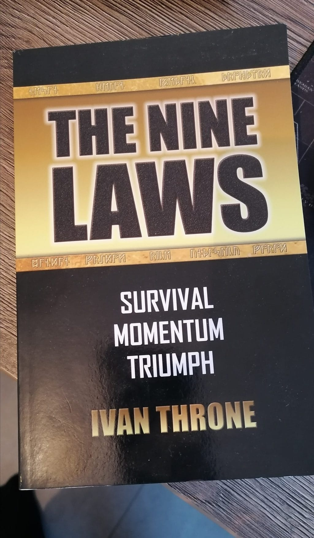 ivan throne's the nine laws book