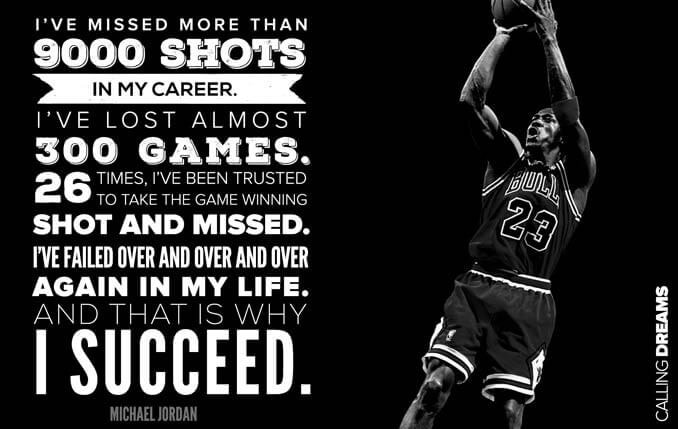 michael jordan quote success