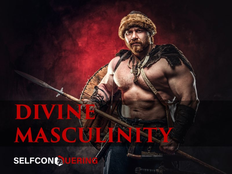 33 divine masculinity quotes barbarian holding a weapon
