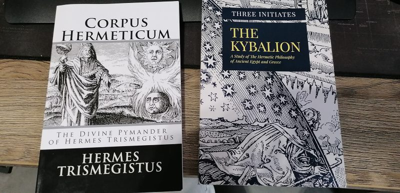 the kybalion and corpus hermeticum books